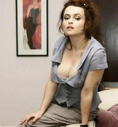 Helena Bonham Carter'ı böyle görseniz tanırsınız.